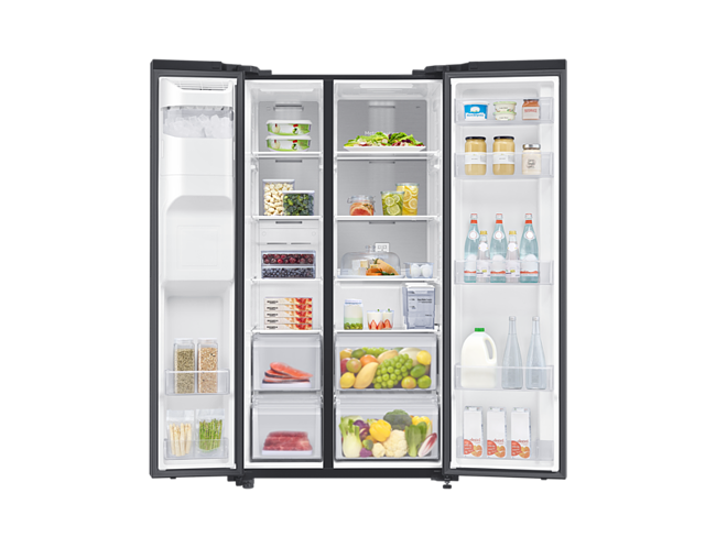 Buy Samsung 640 Liter Side by Side Fridge RS64R5331B4 Online - Shop null on  Carrefour UAE