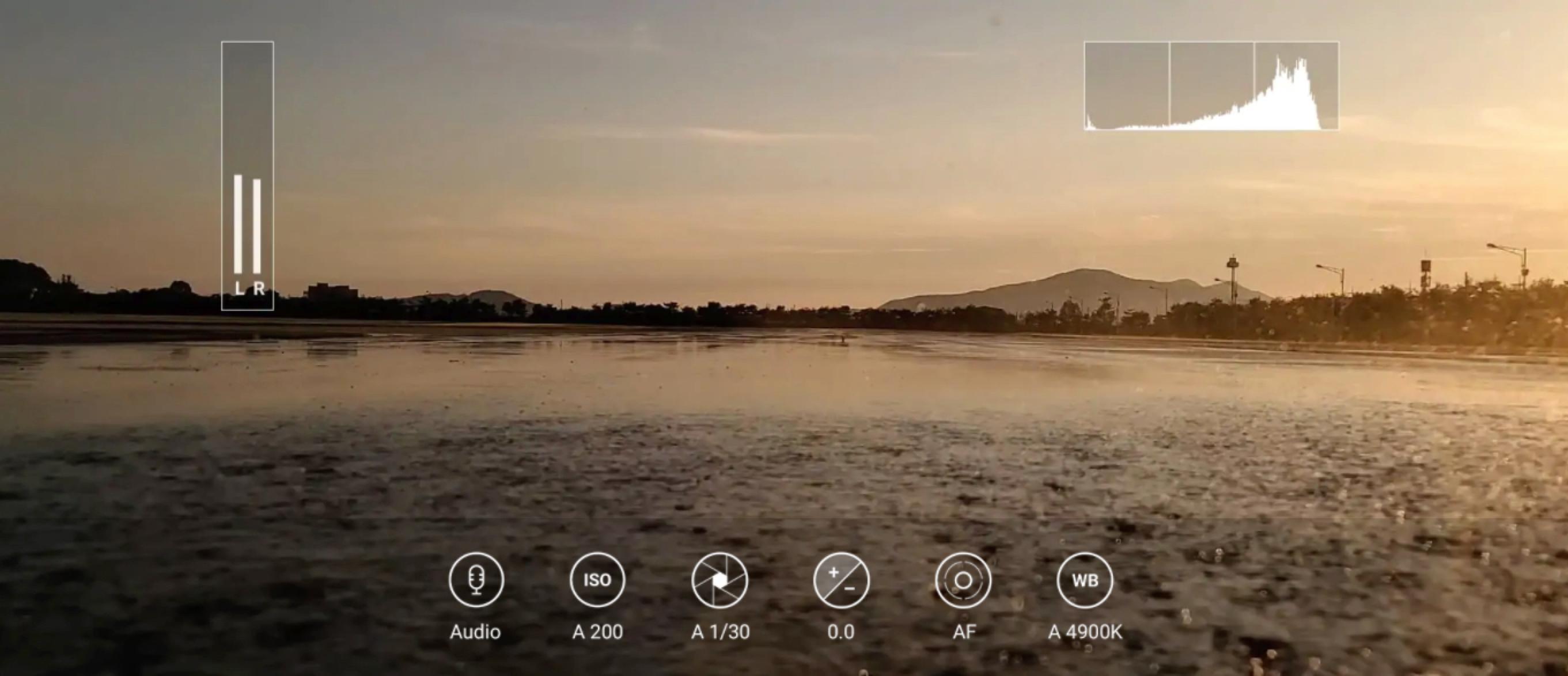 Toujours l'enregistrement vidéo avec la plus haute résolution disponible sur un smartphone