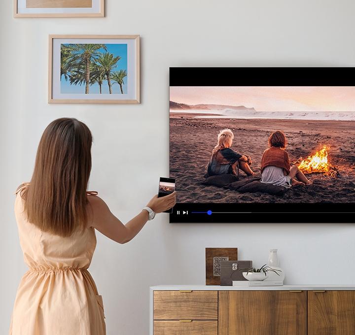 Телевизор SAMSUNG QE-43Q60T