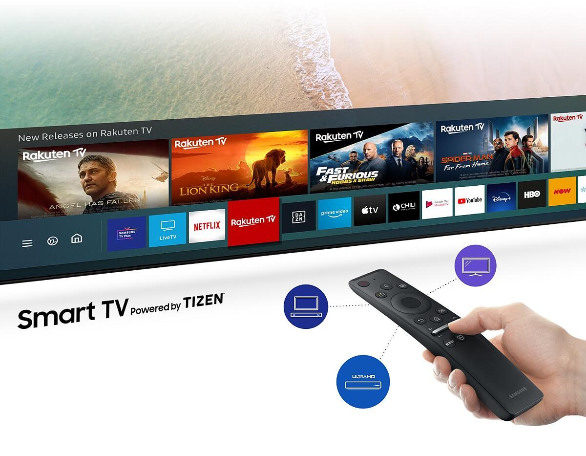 Телевизор SAMSUNG UE-43TU8502