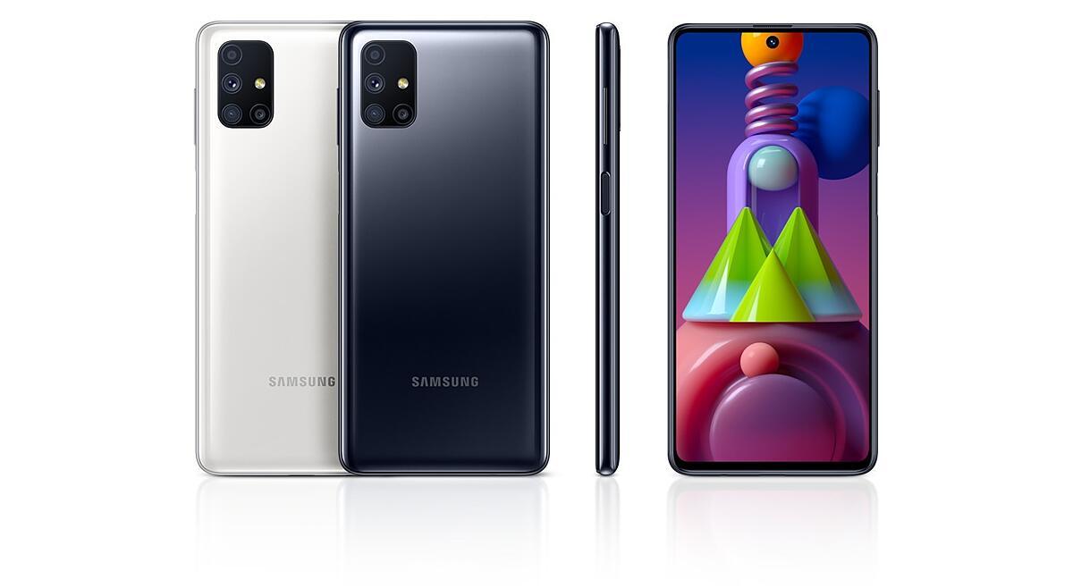 """Samsung Galaxy M51 Desbloqueado 128GB Dual Sim Android 10.0 Tela 6.67"""""""