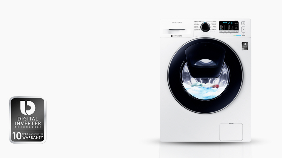 quiet reliable performance - Samsung Ww8ek6415sw Add Wash