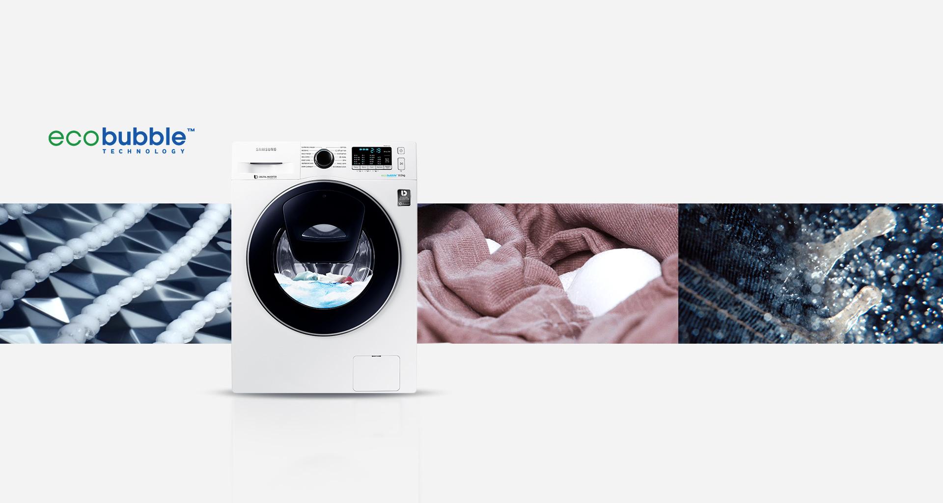 innovative energy saving - Samsung Ww8ek6415sw Add Wash