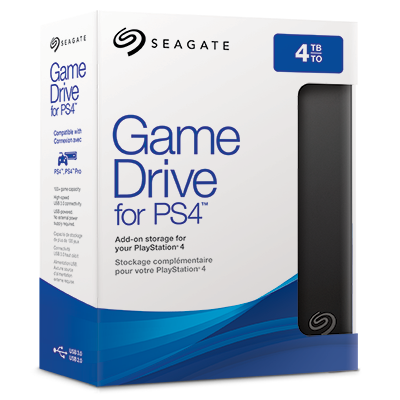 Seagate Game Drive for PS4 (2TB)