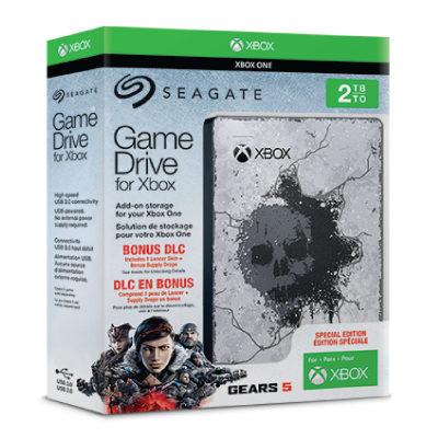 Seagate Game Drive for Xbox Gears 5 Special Edition [2TB]