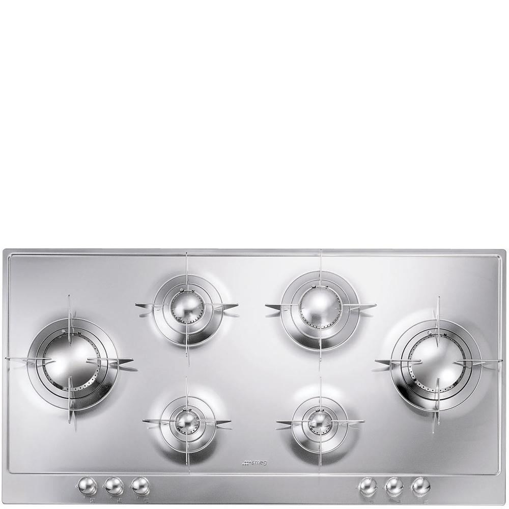 Smeg P106ES | Gas Hob | Stainless Steel | RDO Kitchens & Appliances