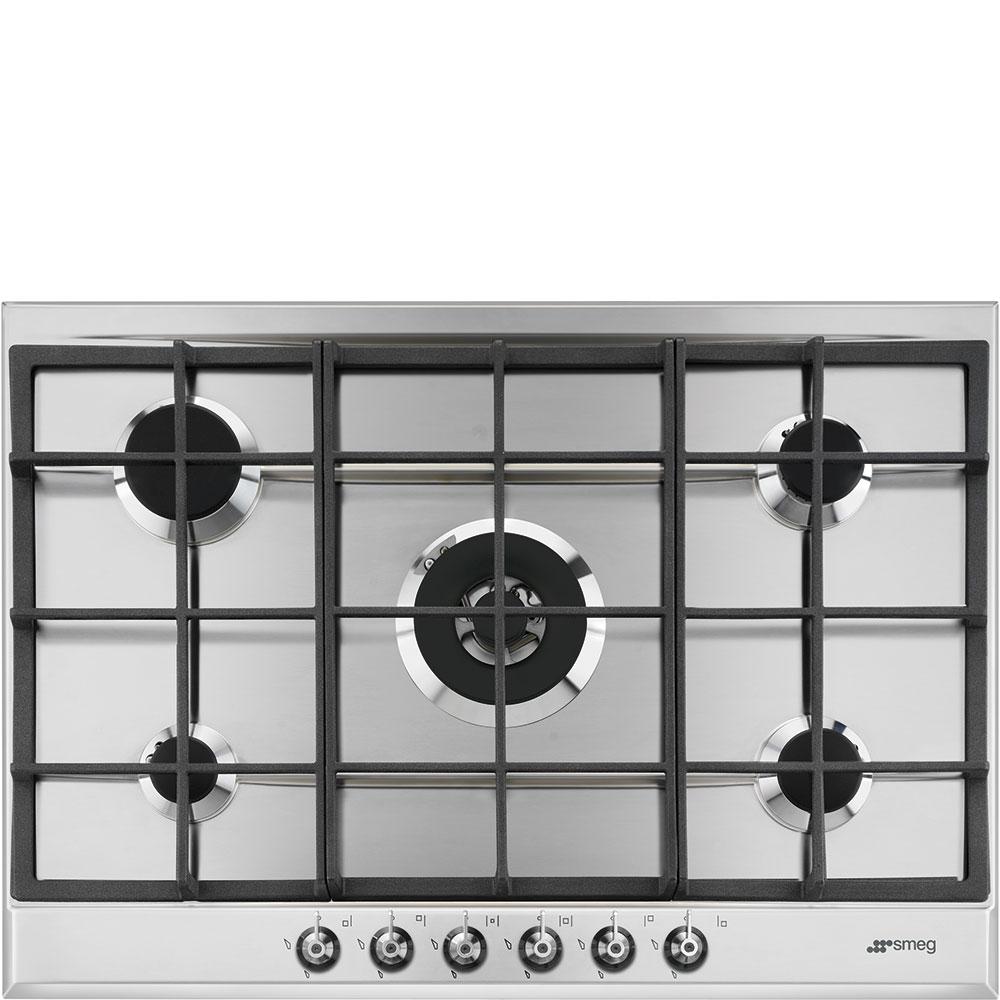 Smeg P372XGH | Gas Hob | Stainless Steel | RDO Kitchens & Appliances