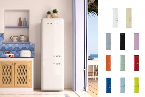 excellent le rfrigrateur fab de style annes se distingue. Black Bedroom Furniture Sets. Home Design Ideas