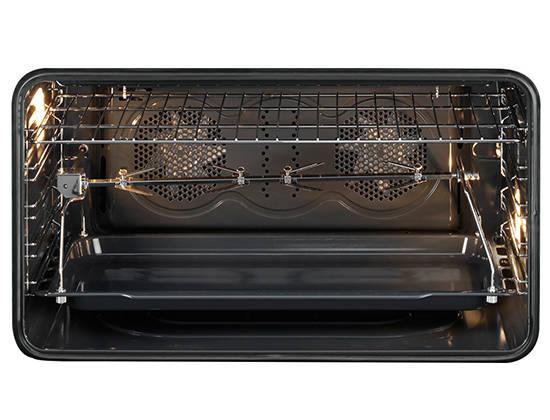 Piano De Cuisson Smeg SCBMCN Darty - Cuisiniere vitroceramique avec four pyrolyse pour idees de deco de cuisine