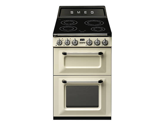 Cuisinière Mixte Smeg TRP Darty - Cuisiniere vitroceramique pyrolyse chaleur tournante pour idees de deco de cuisine