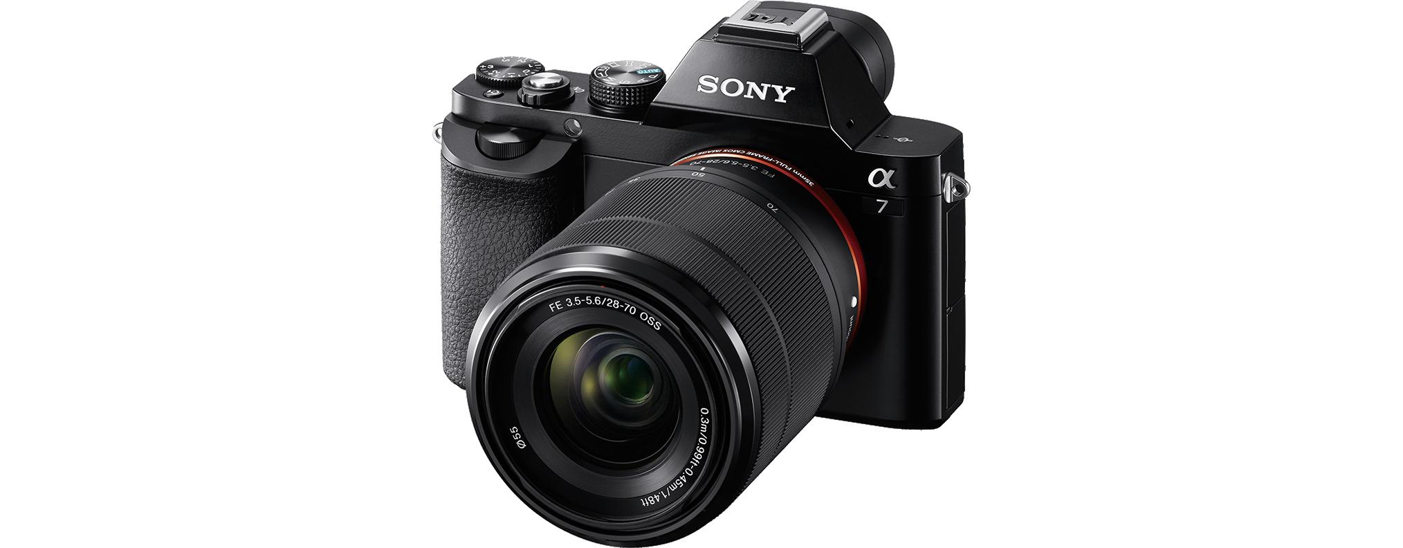 C Mara Evil Sony Alpha 7 Con Objetivo Zoom 28 70 Mm Electr Nica