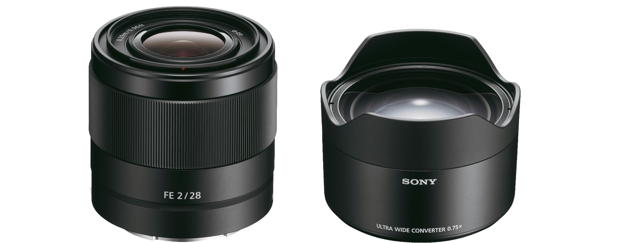 Objetivo y Conversor SONY FE 28mm f/2 - WORTEN