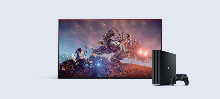 sony kd55x7000e. enjoy hdr gaming with playstation® sony kd55x7000e