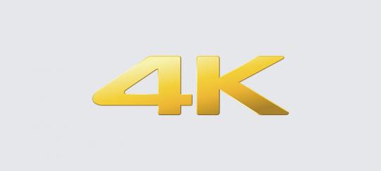 4K görüntü kalitesi
