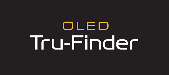 High-resolution OLED Tru-Finder™