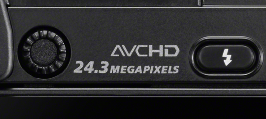 24.3-megapixel APS-C image sensor