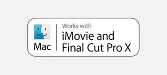 Поддержка iMovie и Final Cut ProX