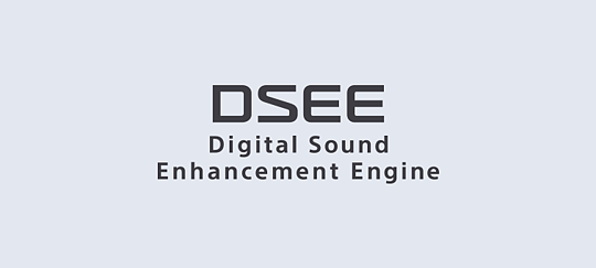 La tecnologia DSEE ripristina i dettagli della tua musica digitale