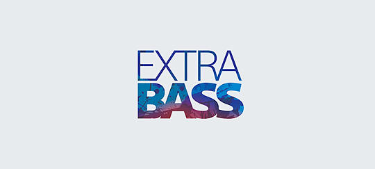 EXTRA BASS™ for deep, punchy sound