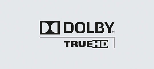 Dolby® TrueHD for sound as the director intended