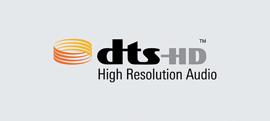 DTS-HD™ for studio master precision