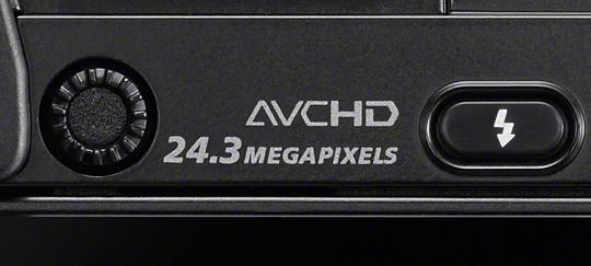 Przetwornik obrazu APS-C orozdzielczości 24,3 megapiksela