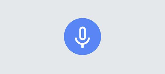 Sesli aramayla izlemek istediğiniz şeyi söyleyin