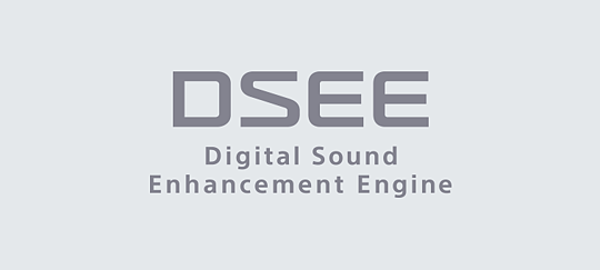 DSEE, ayrıntıları dijital müziğinize geri kazandırır