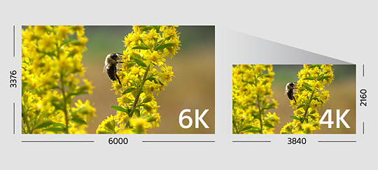 4K – nagrywanie filmów