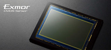 Полнокадровая 35-мм матрица Exmor™ CMOS с разрешением 24,3мегапикселя