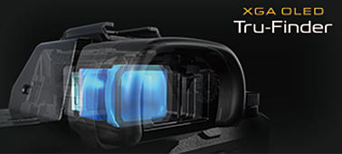 Высококонтрастный видоискатель XGA OLED Tru-Finder™ с высоким разрешением