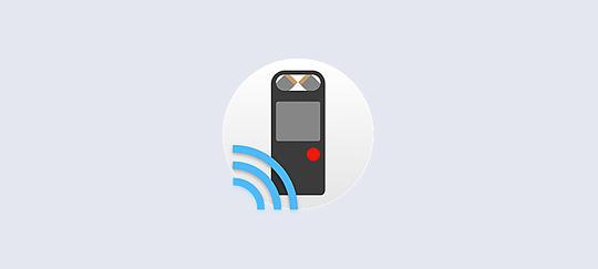 Приложение RECRemote для управления со смартфона