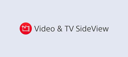 TV SideView uygulamasıyla izleme deneyiminizi zenginleştirin