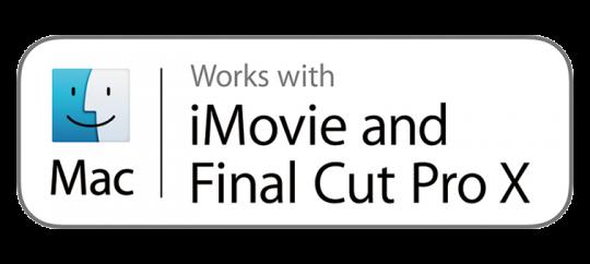 Współpraca z iMovie i Final Cut Pro X