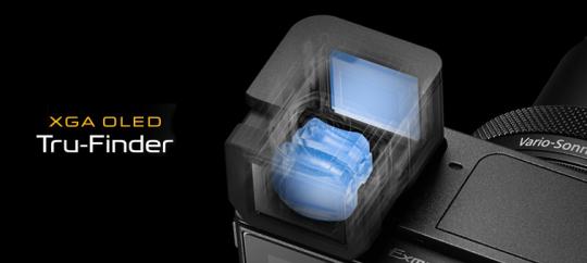 Яркий видоискатель XGA OLED Tru-Finder™ поможет оценить результаты работы