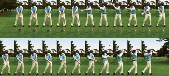 Функция Golf Shot