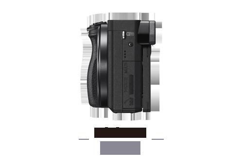 Cámara Evil Sony Alpha 6300 con montura E y objetivo SEL-P1650 ...