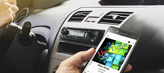 AOA 2.0 позволява да пускате музика от приложения на смартфона си