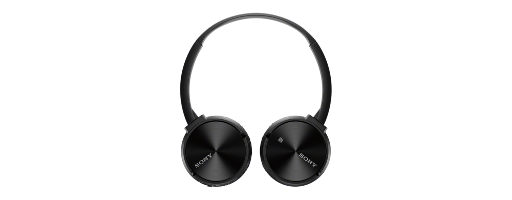 55b08a64a73c Sony MDRZX330BT Bluetooth Over Ear Headphones Black at The Good Guys