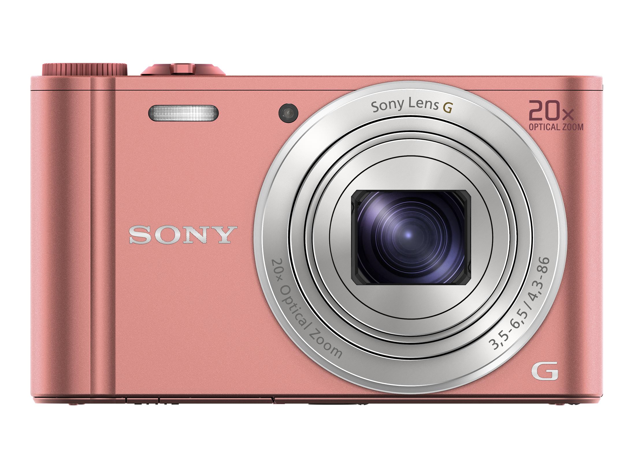 Sony Cyber Shot Dsc Wx350 Appareil Photo Numérique Compact 182 Mp 20x Zoom Optique Wi Fi Nfc Rose