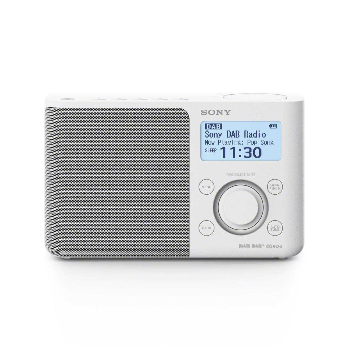 Radio portátil Sony XDRS61DW.EU8 Negro DAB/DAB+/FM · Electrónica ...