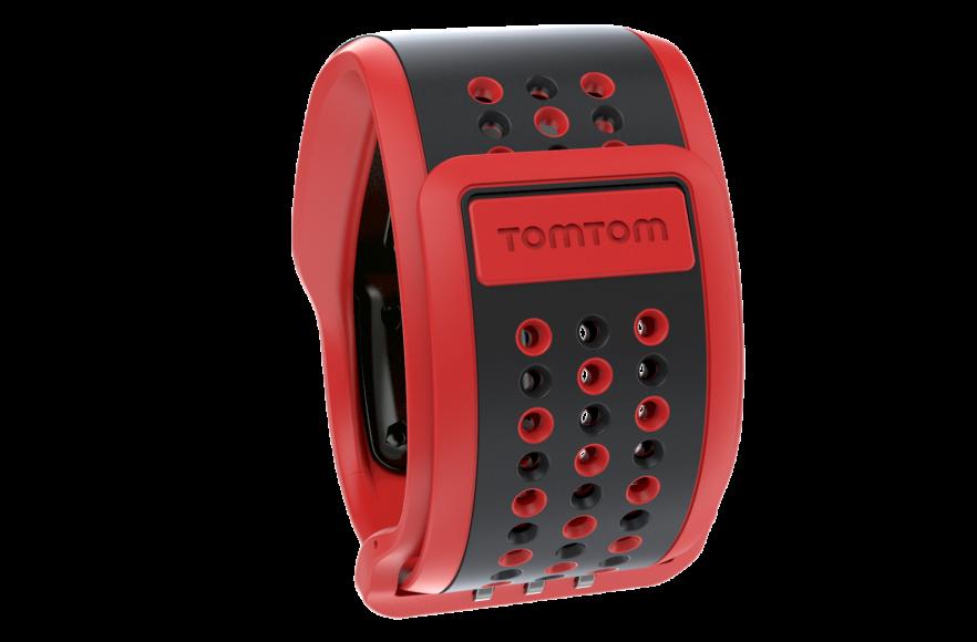 aff179bffb4f TomTom Multi-Sport Cardio GPS Watch pulsómetro negro rojo ...