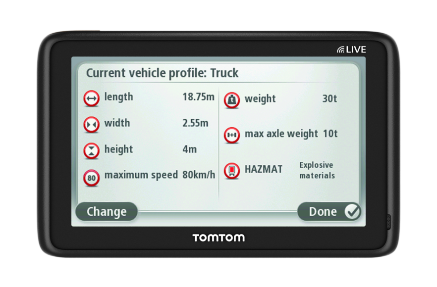 Carte Max Avis.Tomtom Pro 5150 Truck Live Carte A Vie 8 Avis Sur Darty 3