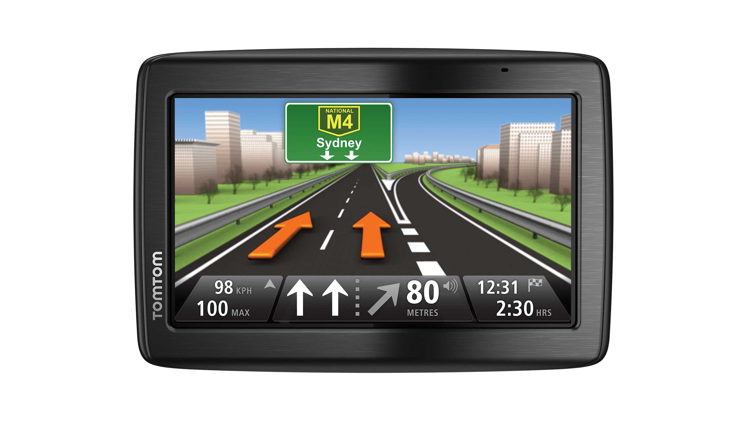 buy the tomtom via 280 lifetime maps 5 screen hands free calling. Black Bedroom Furniture Sets. Home Design Ideas