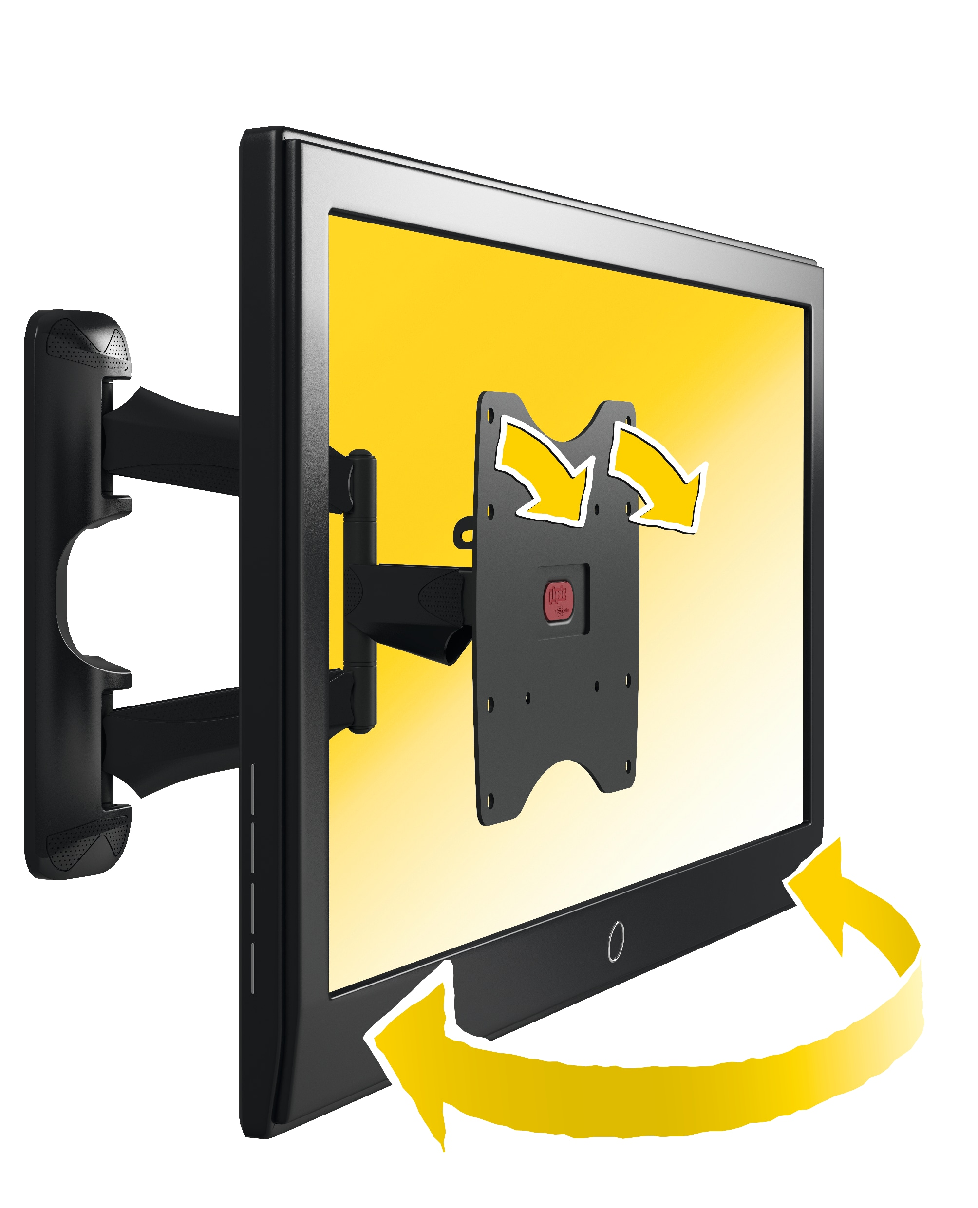 PHW 400 S Full-Motion TV Wall Mount