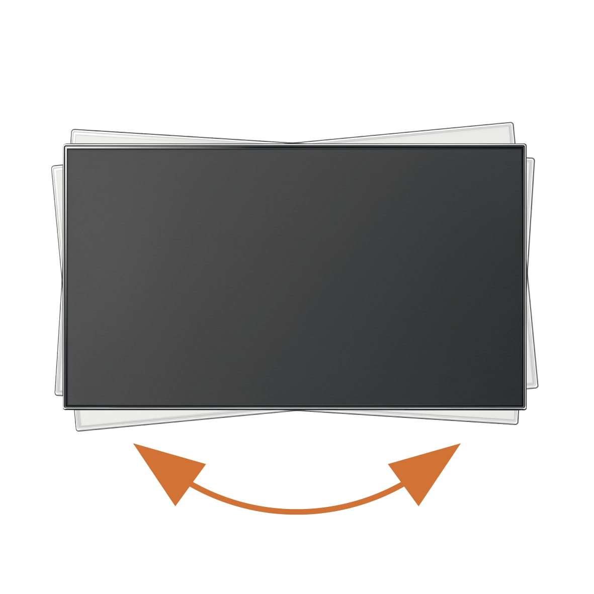 Support Mural Tv Vogel S Wall 3345 Vente De Meuble Et Support Tv  # Meuble Tv Avec Fixation Integree