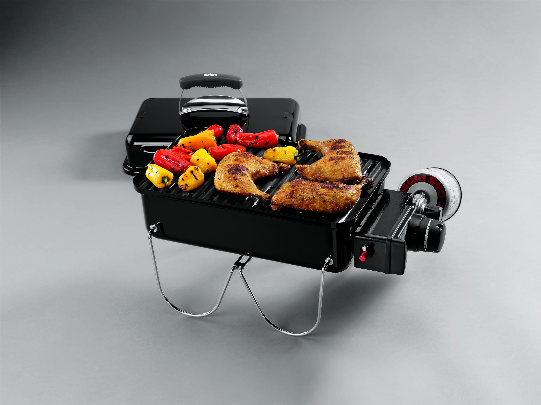 barbecue weber go anywhere noir gaz | darty