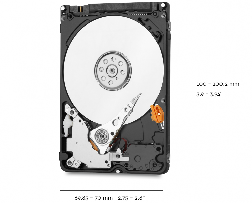 Wd Blue 500gb Mobile 700mm Hard Disk Drive 5400 Rpm Sata 6gb S Hdd 320 Gb 35 Technical Specifications Drives