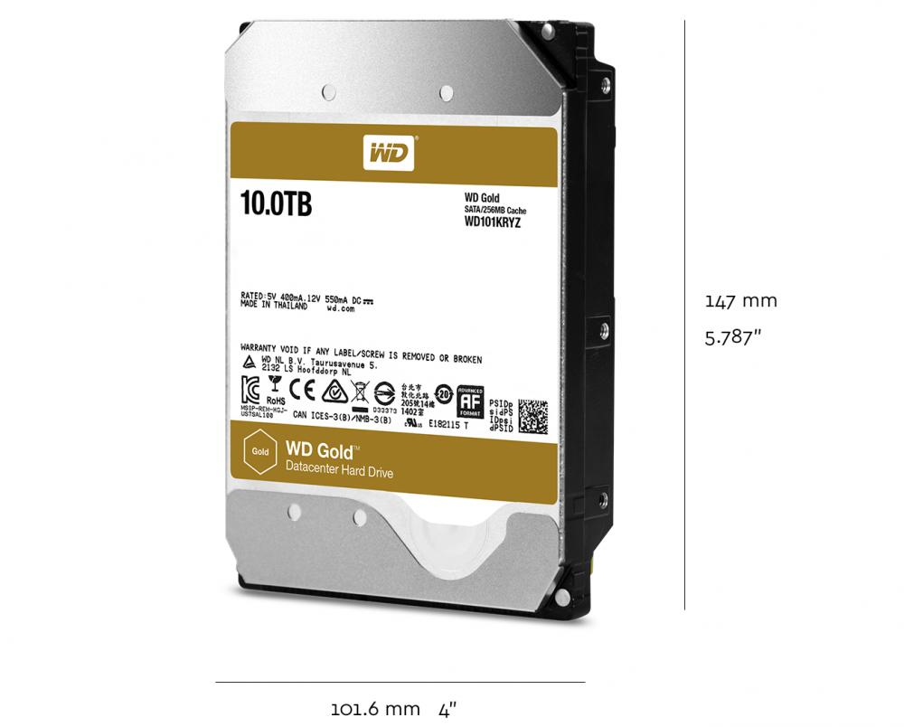 Wd Gold 4tb Enterprise Class Hard Disk Drive 7200 Rpm Sata Wdbbkd0030 3tb Cartridge Technical Specifications