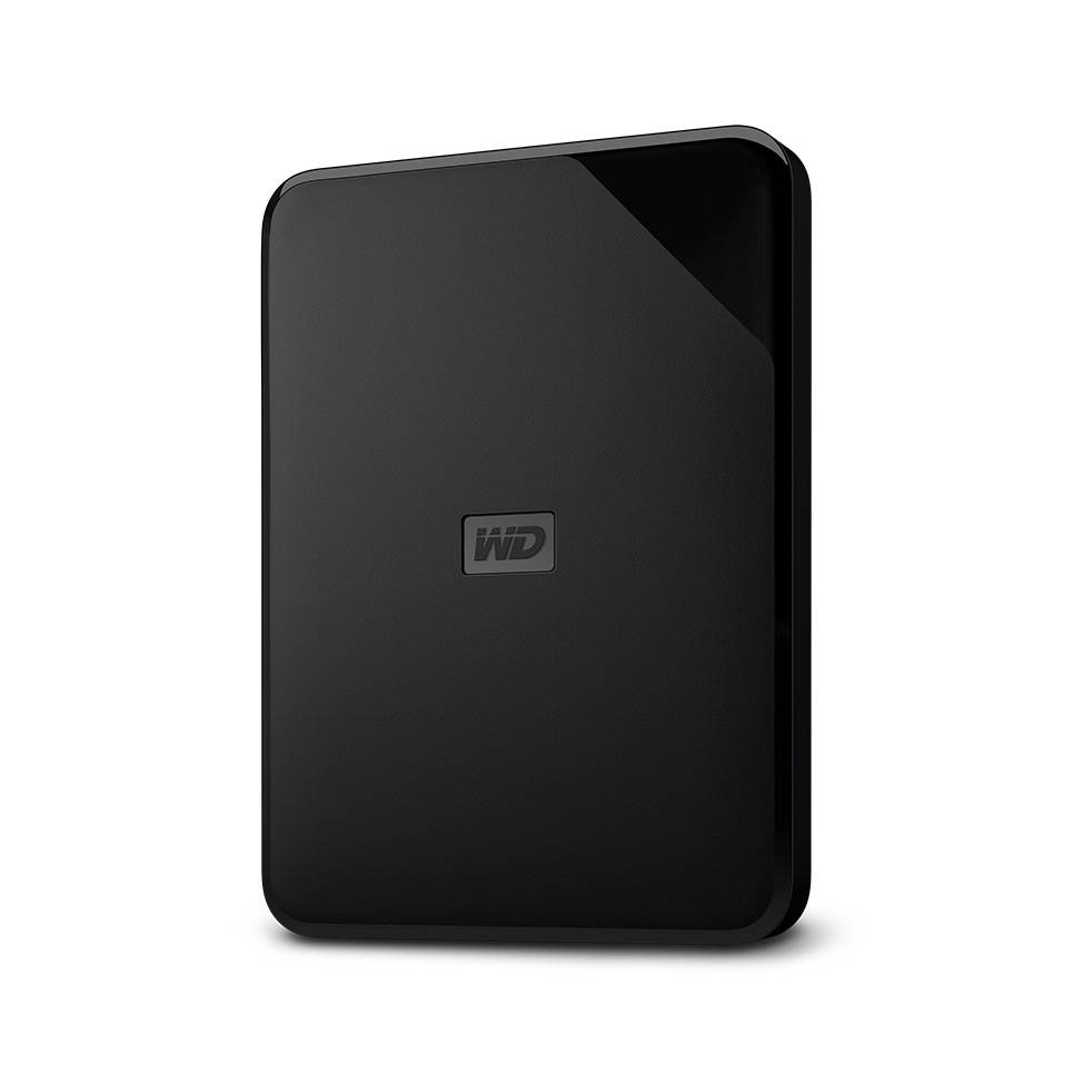 how to set up a wd elements external hard drive